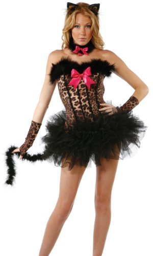 Forplay Miss Meow Sexy Cat (Miss Meow Costume)