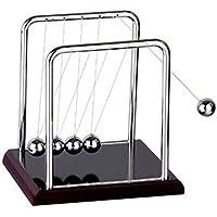 Klasik Newtons beşik denge küreleri plastik zemin fizik bilim Pendulum çalışma masası aksesuarı