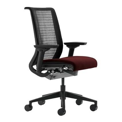 Astonishing Amazon Com Steelcase Think Office Desk Chair With Black Machost Co Dining Chair Design Ideas Machostcouk