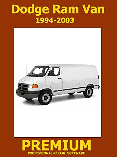 Dodge Ram Van Repair Software (DVD) 1994 1995 1996 1997 1998 1999 2000 2001 2002 2003
