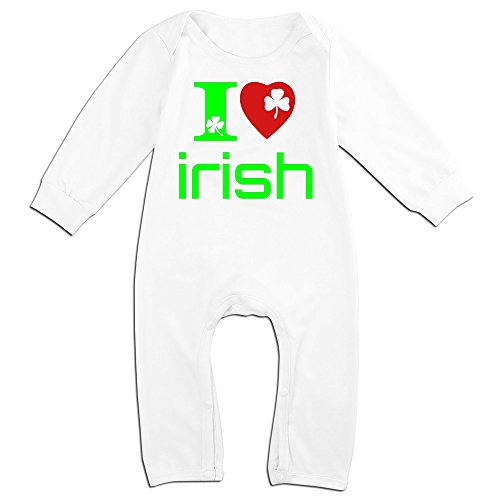 [Yours I Love Irish For 6-24 Months Infant Funnies Baby Climbing Clothes White Size 18 Months] (Alvin And The Chipmunks Costumes For Kids)