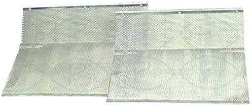 La Factoria del Recambio Kit DE Dos FILTROS METÁLICOS Campana NODOR 60; 275 x 285 x 9, 5 MM (524593610): Amazon.es