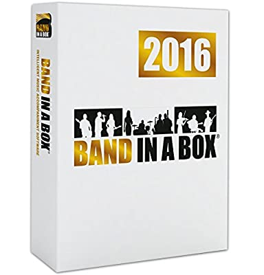 PG Music Band-in-a-Box 2016 for Windows