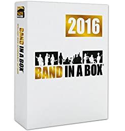 PG Music Band-in-a-Box MegaPAK 2016 for Windows