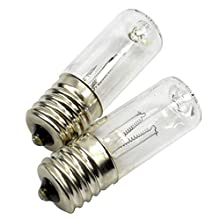 2Pcs Replacement Bulb E17 3W UV Bulb Mist Humidifier Premium Compatible