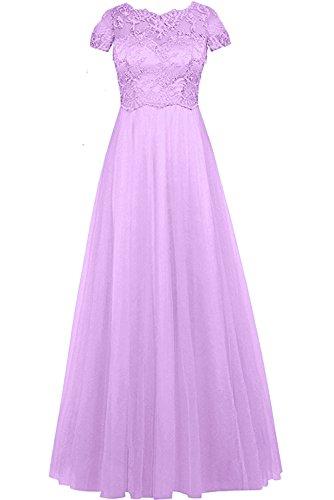 Mujer lilac Vestido Topkleider Z para Trapecio zqtXwX7A