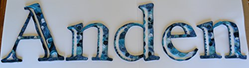 Baby Room Name Decor by Quillions of Things
