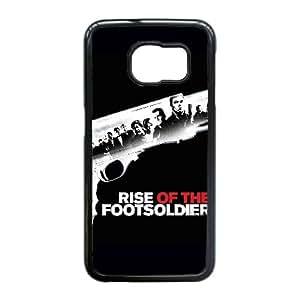 Rise Of The caja del teléfono celular de alta resolución Footsoldier cartel Samsung Galaxy S6 Edge funda Negro caja del teléfono celular Funda Cubierta EEECBCAAL77623