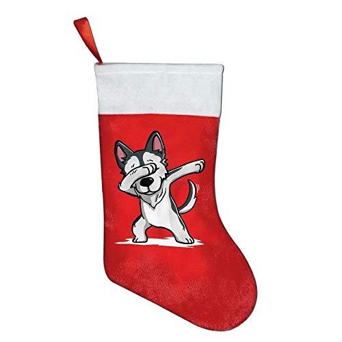 Felt Needlepoint (Girdsunp Stockings Dabbing Husky Funny Felt Party Accessory,Funny Socks)