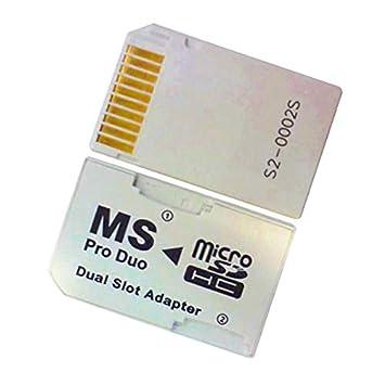 Sintech.DE - Adaptador doble de ProDuo a micro SD (HC ...