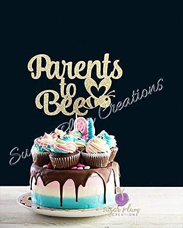 Amazon.com: Decoración para Tarta para los padres a Bee ...