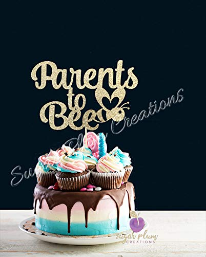 Parents to Bee Cake Topper -