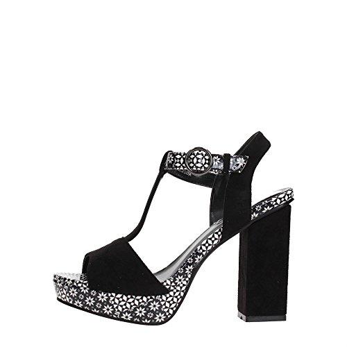 Desigual Schuhe - Shoes_Vela Alhambra 18SSSF13 - Kollektion 2018 schwarz weiss