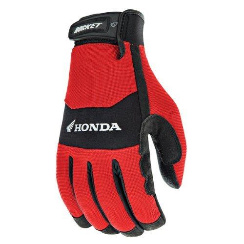 Gloves Motorcycle Honda - Joe Rocket Honda Crew Touch Mens Red/Black Textile Motorcycle Gloves - Medium