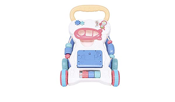 Andador estable para bebés, caricatura multifuncional ...