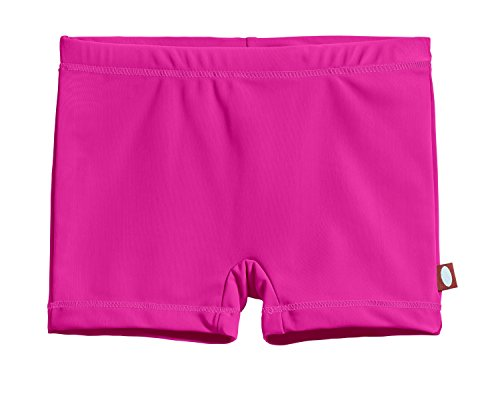 (City Threads Little Girls' Swimming Suit Bottom Boy Short, Hot Pink MS, 6)