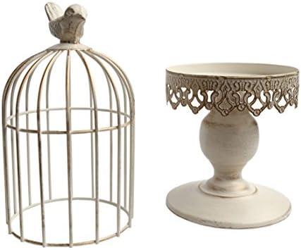 Berry President TM Handmade Metal Candleholder Vintage Home Decorative Table Floor Tall Birdcage Candle Holder Centerpiece