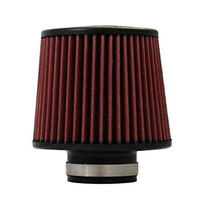 "Injen Technology X-1012-BR Black and Red 2.5"" High Performance Air Filter: Automotive"