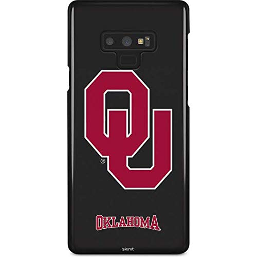 Skinit University of Oklahoma Galaxy Note 9 Lite Case - Oklahoma Sooners Black Design - Ultra-Thin, Lightweight Phone Cover