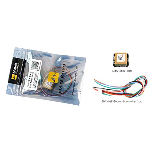 Wikiwand Matek Systems M8Q5883 Ublox SAMM8Q GPS Module with Drone QMC5883L Compass by Wikiwand (Image #4)