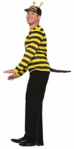 Stinger Bumble Bee Costume (Forum Halloween Bumble Bee Stinger Costume Tail, Black, One-Size)