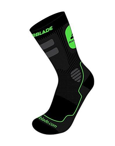 rollerblade-mens-high-performance-skating-socks-black-green-large-us-10-125