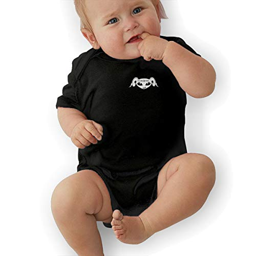 Nathalie R Salmeron Puscifer Baby and Toddler Short-Sleeve Bodysuits 12M Black