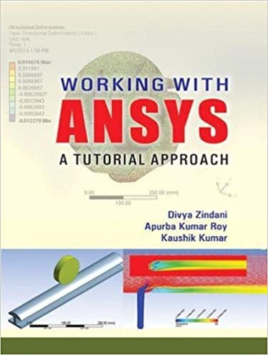 Working with ANSYS A Tutorial Approach: Divya Zindani, Apurba Kumar