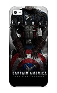 High-quality Durability Case For Iphone 5c(captain America - The First Avenger)