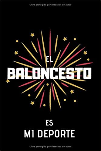 El Baloncesto es mi deporte: Cuaderno Rayado: Amazon.es: Moya ...