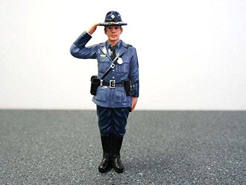 Diorama Figure- State Trooper- Brian 1/18