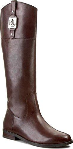 59bd62a21f Polo Ralph Lauren, Damen Stiefel & Stiefeletten braun braun, braun - braun  - Größe