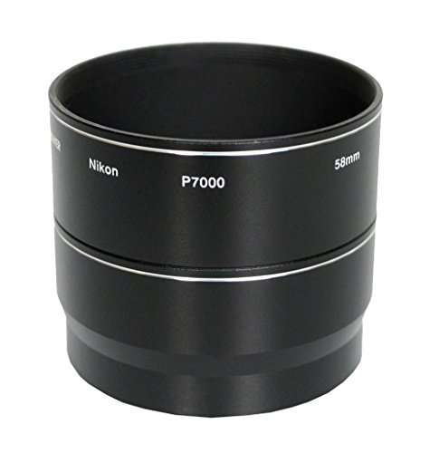 Bower ANP7000 Nikon Coolpix P7000 58 mm Adapter Tube (Black) from Bower