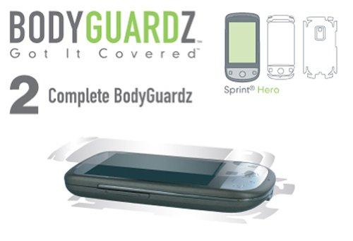 BodyGuardZ Scratch-Proof Transparent Film for Sprint Hero