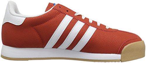 Adidas Originals Mens Samoa Retro Sneaker Hantverk Chili Vit / Blå Fågel