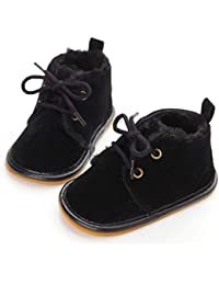Multicolor Unisex Baby Warm Non-Slip Soft Sole Boots...
