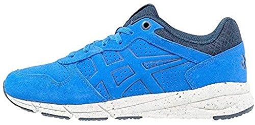 Onitsuka Tijger Shaw Runner Blauw Wit Suede Heren Trainers Schoenen Laarzen