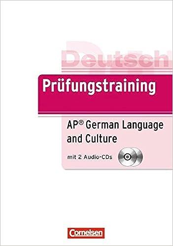 Prufungstraining Daf Prufung Ap German Exam B2 Ubungsbuch Mit