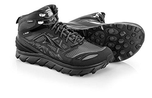 Altra Lone Peak 3 Mid Neo Running Shoes - Men's Black 10.5