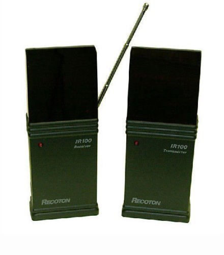 Wireless Remote Control Extender IR to UHF Sends signal through wall 418Mhz