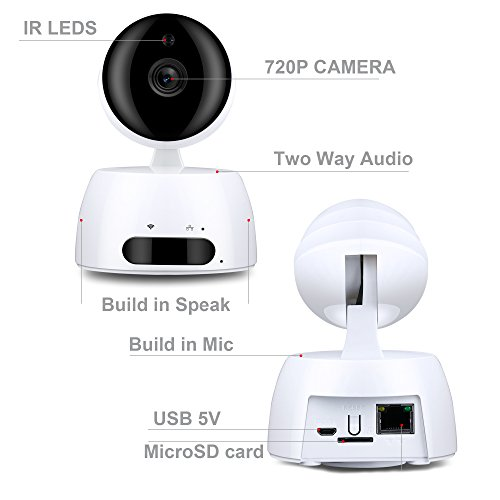 Review 720P IP Wireless Security