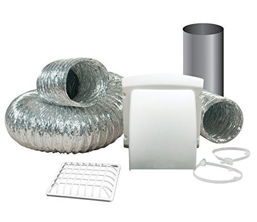 - Dundas Jafine TD48PMKZW6 ProMax Dryer Vent Kit, White