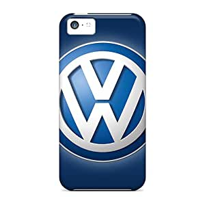 Perfect Volkswagen Logo Cases Covers Skin For Iphone 5c Phone Cases