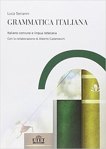 grammatica italiana di luca serianni pdf
