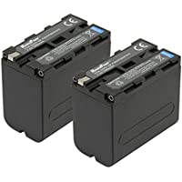 Maximal Power DB DB SON NP-950/F970 X2 MaximalPower Replacement Battery for Sony NP-F950,F960,F970 and Fits For Many Sony Camera Models 2 Pack