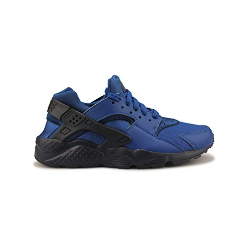 Nike Barn Air Huarache Köra Gs Mode Sneakers Vita /// Varsity Röd
