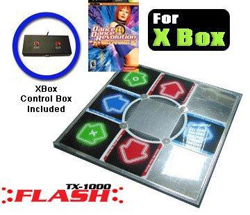Dance dance revolution DDR ULTRAMIX 2 XBOX game - 1 Dance dance revolution DDR METAL XBOX DANCE PAD (Xbox Dance Pad Metal)