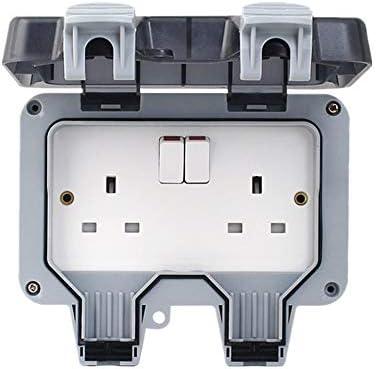 Caja de enchufes a prueba de agua al aire libre Interruptor Ip66 ...