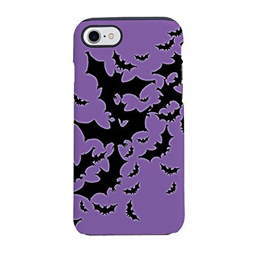 CafePress - Bats-Many_J.Png Iphone 7 Tough Case - iPhone 8 / iPhone 7 Phone Case, Tough Phone Shell