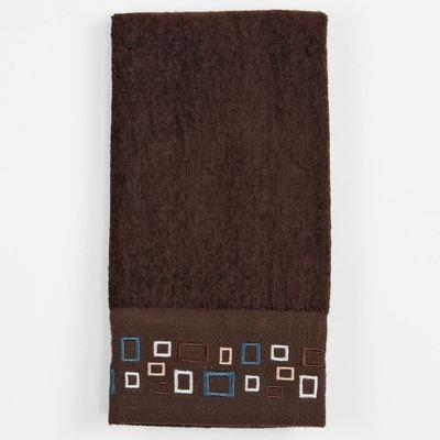 ''Esquire'' - Bathroom Shower Collection - Set of 2 Fingertip Towels by Saturday Knight Limited